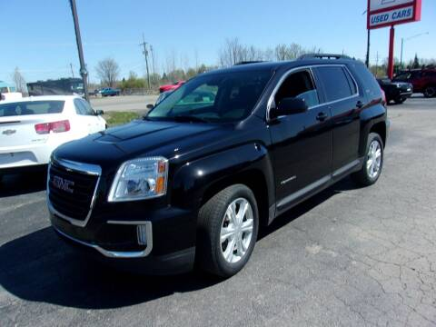 2017 GMC Terrain for sale at DAVE KNAPP USED CARS in Lapeer MI