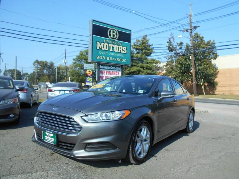 2014 Ford Fusion for sale at Brookside Motors in Union NJ