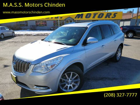 2016 Buick Enclave for sale at M.A.S.S. Motors - West Fairview in Boise ID