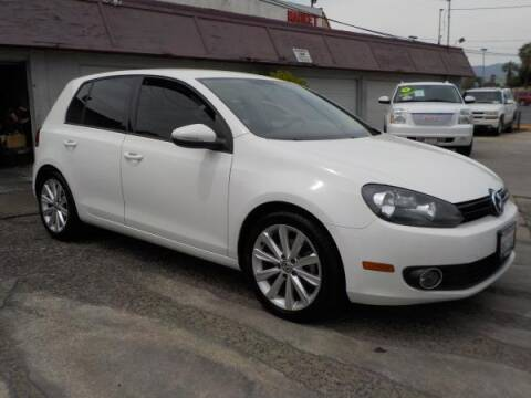 2014 Volkswagen Golf for sale at Bell's Auto Sales in Corona CA