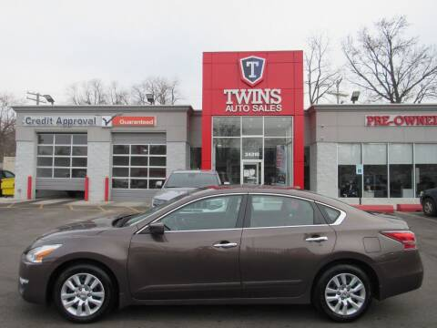 2015 Nissan Altima for sale at Twins Auto Sales Inc in Detroit MI