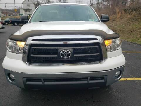 2012 Toyota Tundra for sale at KANE AUTO SALES in Greensburg PA