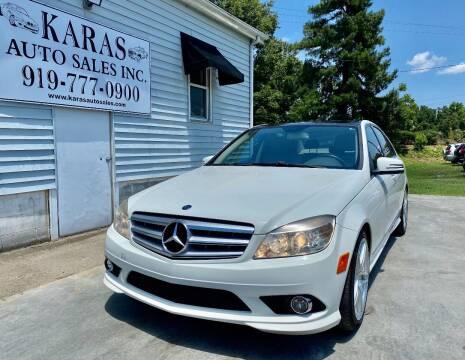 2010 Mercedes-Benz C-Class for sale at Karas Auto Sales Inc. in Sanford NC