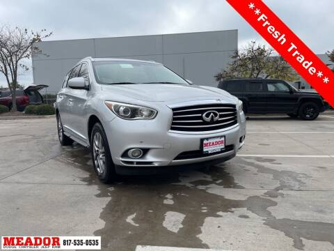 2014 Infiniti QX60 for sale at Meador Dodge Chrysler Jeep RAM in Fort Worth TX