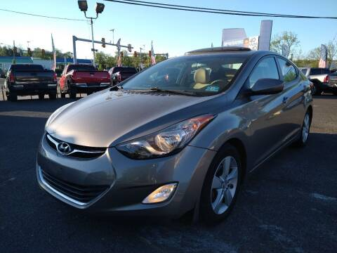 2013 Hyundai Elantra for sale at P J McCafferty Inc in Langhorne PA