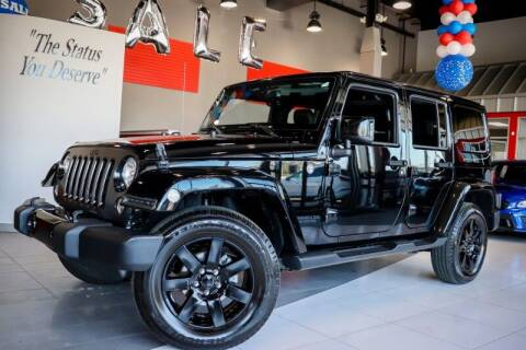 2014 Jeep Wrangler Unlimited for sale at Quality Auto Center in Springfield NJ