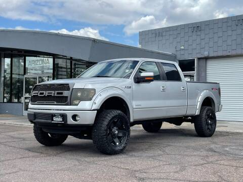 2011 Ford F-150 for sale at ARIZONA TRUCKLAND in Mesa AZ
