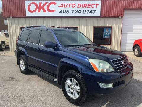2006 Lexus GX 470 for sale at OKC Auto Direct in Oklahoma City OK