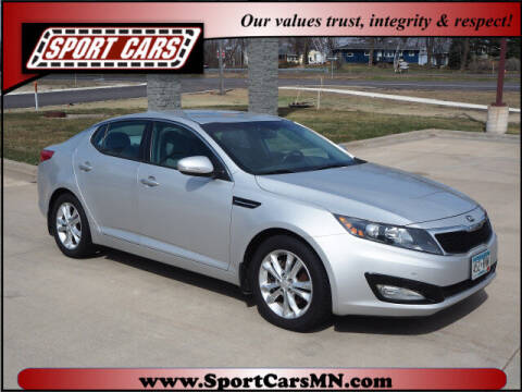 2013 Kia Optima for sale at SPORT CARS in Norwood MN