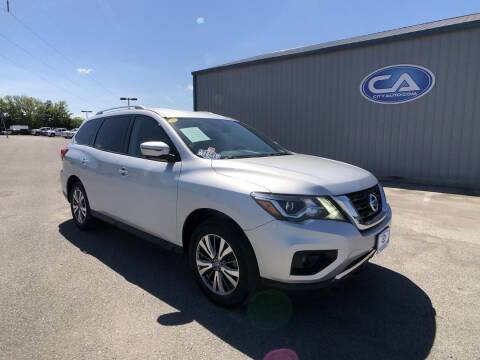 2019 Nissan Pathfinder for sale at Team Hall at City Auto in Murfreesboro TN