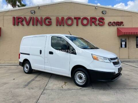 2015 Chevrolet City Express Cargo for sale at Irving Motors Corp in San Antonio TX