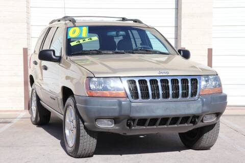 2001 Jeep Grand Cherokee for sale at MG Motors in Tucson AZ