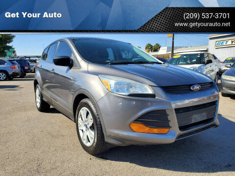 2014 Ford Escape for sale at Get Your Auto in Ceres CA