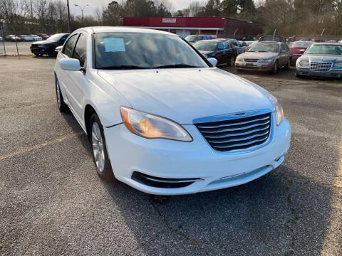 2013 Chrysler 200 for sale at Certified Motors LLC in Mableton GA
