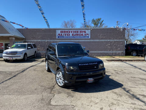 2010 Land Rover Range Rover Sport for sale at Brothers Auto Group in Youngstown OH