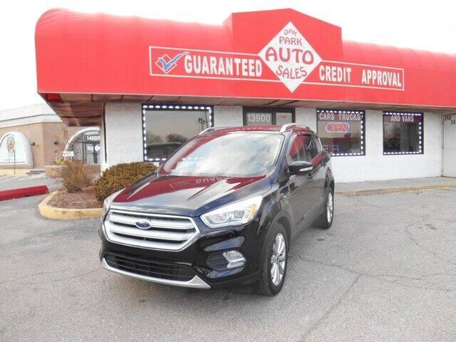 2017 Ford Escape for sale at Oak Park Auto Sales in Oak Park MI