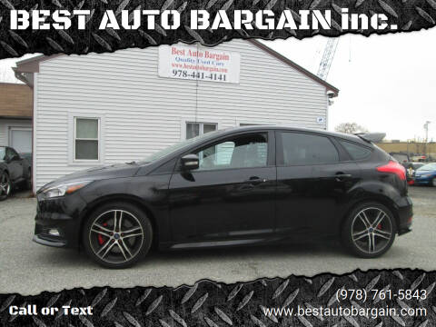 2016 Ford Focus for sale at BEST AUTO BARGAIN inc. in Lowell MA