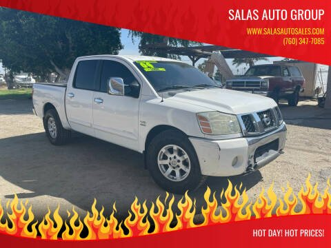 2004 Nissan Titan for sale at Salas Auto Group in Indio CA