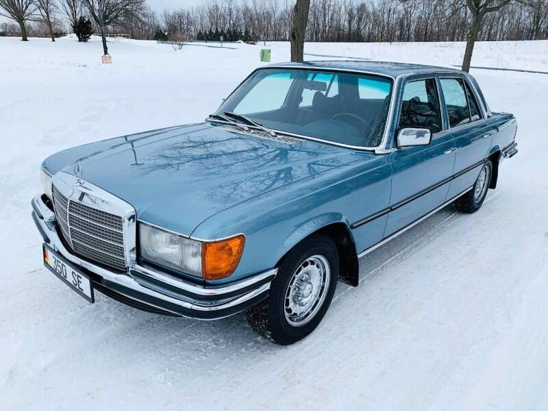 1978 Mercedes-Benz S-Class for sale at Park Ward Motors Museum - Park Ward Motors in Crystal Lake IL
