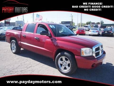 2007 Dodge Dakota for sale at Payday Motors in Wichita KS
