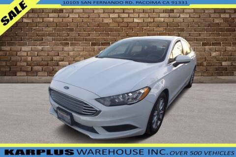 2017 Ford Fusion for sale at Karplus Warehouse in Pacoima CA