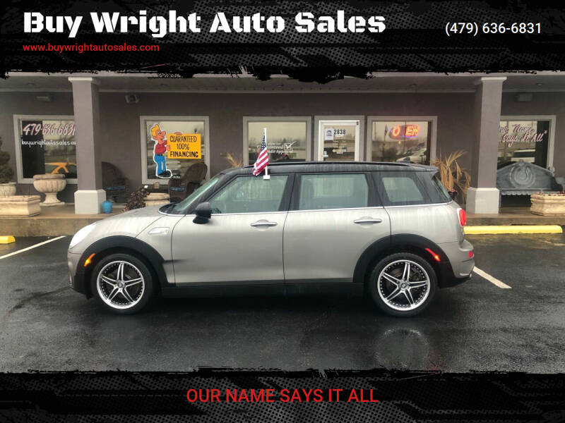2016 MINI Clubman for sale at Buy Wright Auto Sales in Rogers AR