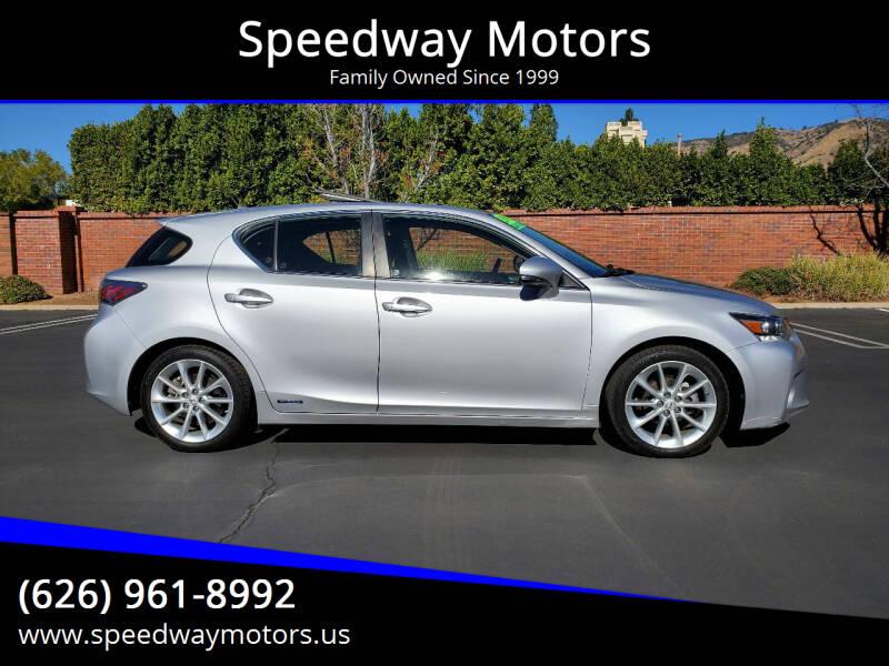 2012 Lexus CT 200h for sale at Speedway Motors in Glendora CA