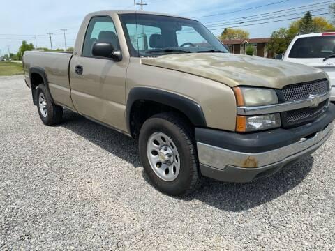 2005 Chevrolet Silverado 1500 for sale at 62 Motors in Mercer PA