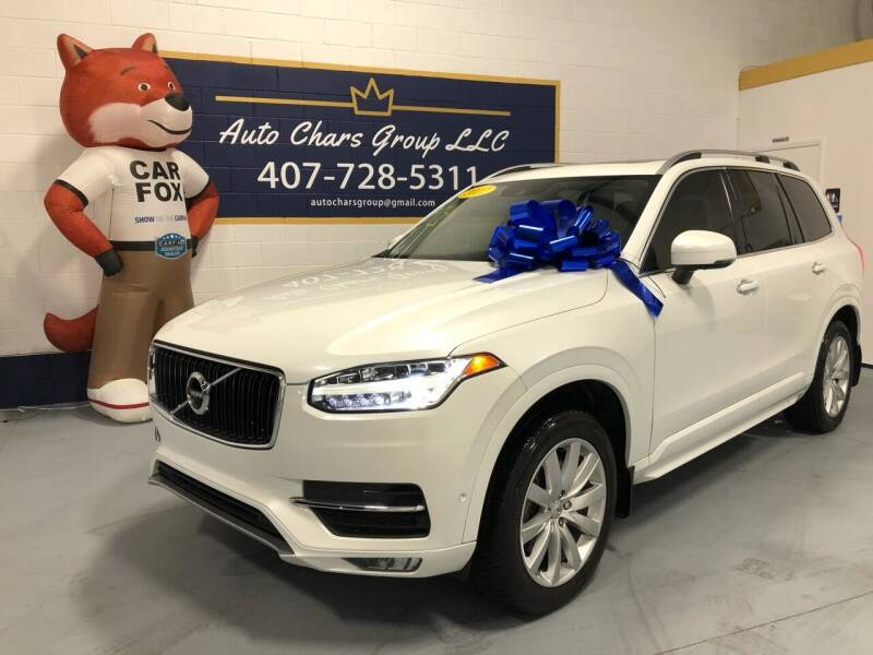 2017 Volvo XC90 for sale at Auto Chars Group LLC in Orlando FL