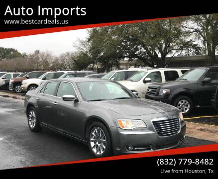 2012 Chrysler 300 for sale at Auto Imports in Houston TX