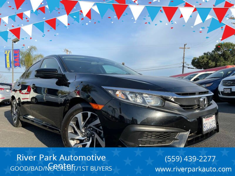 2018 Honda Civic for sale at River Park Automotive Center in Fresno CA
