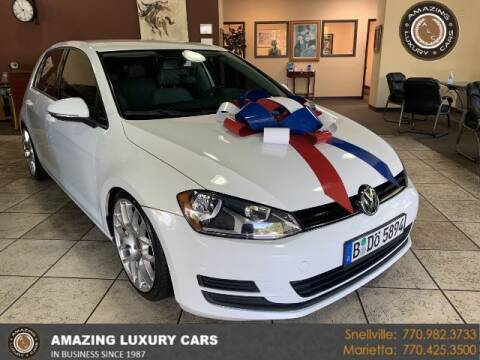 2015 Volkswagen Golf for sale at Amazing Luxury Cars in Snellville GA