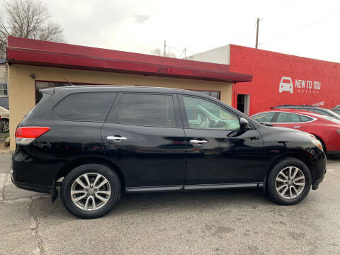 2014 Nissan Pathfinder for sale at New To You Motors in Tulsa OK