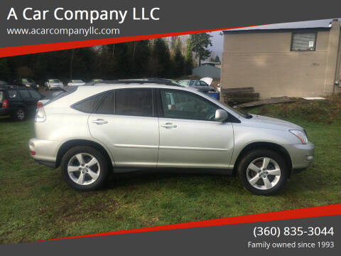 2004 Lexus RX 330 for sale at A Car Company LLC in Washougal WA