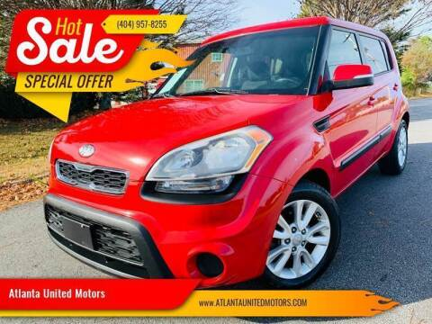 2012 Kia Soul for sale at Atlanta United Motors in Buford GA