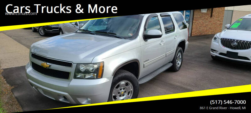 2011 Chevrolet Tahoe for sale at Cars Trucks & More in Howell MI