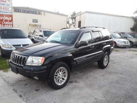 2002 Jeep Grand Cherokee for sale at DAVINA AUTO SALES in Casselberry FL
