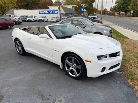 2012 Chevrolet Camaro for sale at Brucken Motors in Evansville IN