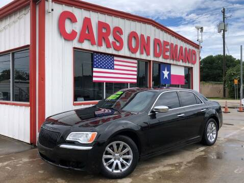 2012 Chrysler 300 for sale at Cars On Demand 3 in Pasadena TX