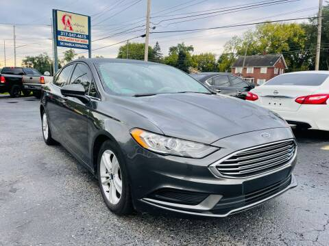2018 Ford Fusion for sale at California Auto Sales in Indianapolis IN