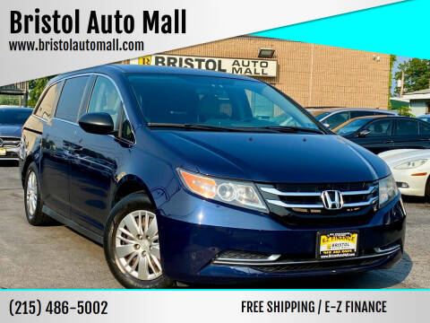 2015 Honda Odyssey for sale at Bristol Auto Mall in Levittown PA