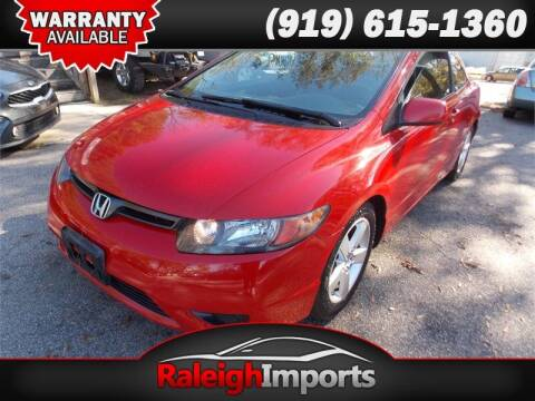 2008 Honda Civic for sale at Raleigh Imports in Raleigh NC