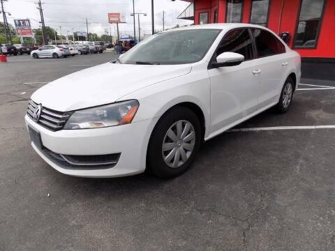 2012 Volkswagen Passat for sale at Kelley Autoplex in San Antonio TX