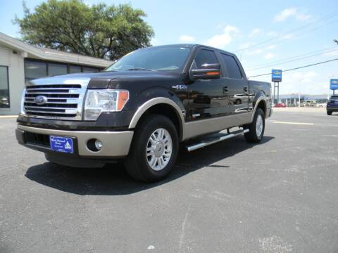 2014 Ford F-150 for sale at MARK HOLCOMB  GROUP PRE-OWNED in Waco TX