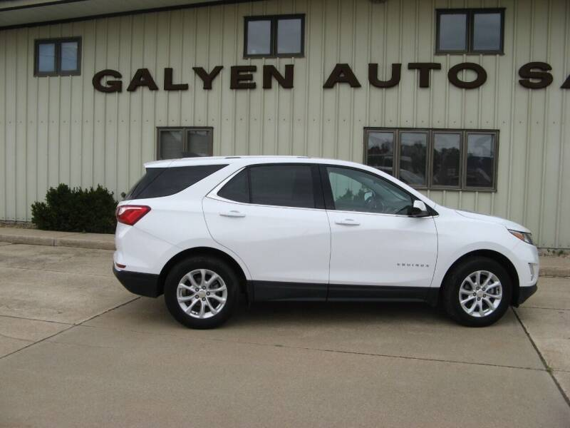 2019 Chevrolet Equinox for sale at Galyen Auto Sales in Atkinson NE
