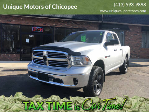 2013 RAM Ram Pickup 1500 for sale at Unique Motors of Chicopee in Chicopee MA
