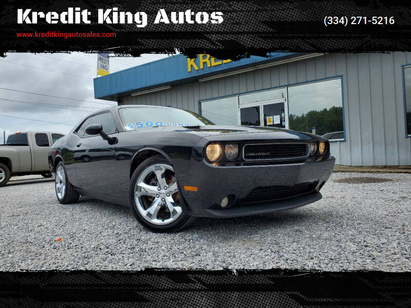 2013 Dodge Challenger for sale at Kredit King Autos in Montgomery AL