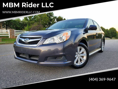 2012 Subaru Legacy for sale at MBM Rider LLC in Alpharetta GA
