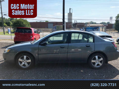 2006 Saturn Ion for sale at C&C Motor Sales LLC in Hudson NC