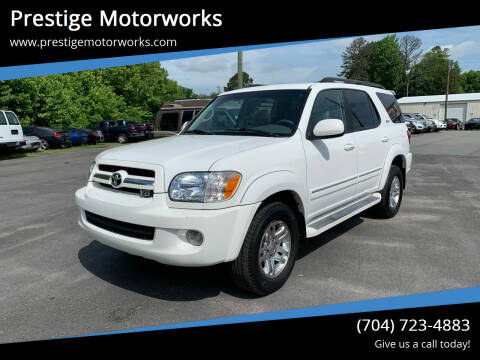 2005 Toyota Sequoia for sale at Prestige Motorworks in Concord NC